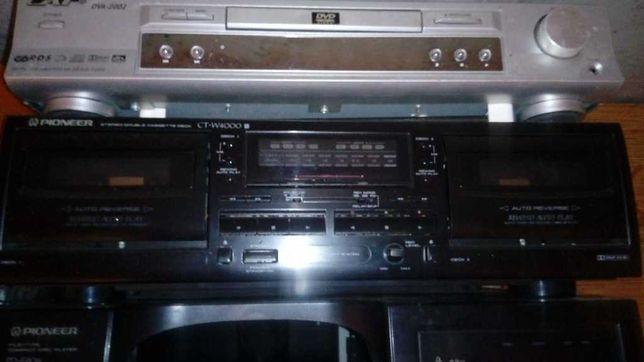 Magnetofon kasetowy kaseciak deck Pioneer  CTW4000 double 120V!