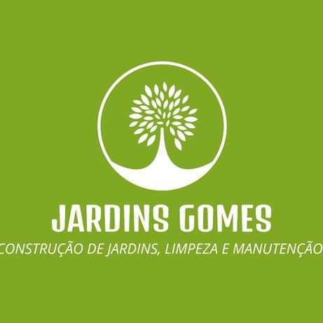 Construção de jardins, limpeza e manutenção