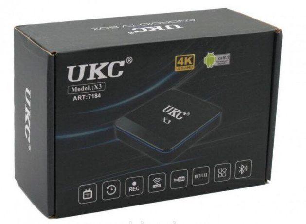 SMART TV X3 MINI 4gb\32gb S905W+BT Смарт-приставка