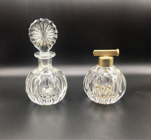 Frascos de perfume em cristal antigos