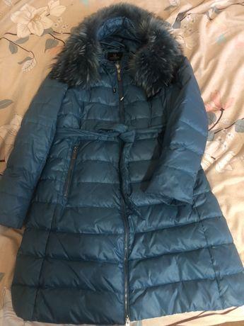 Натуральное пуховое пальто