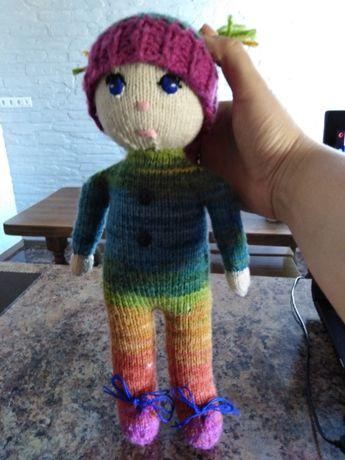 Нова вязана лялька