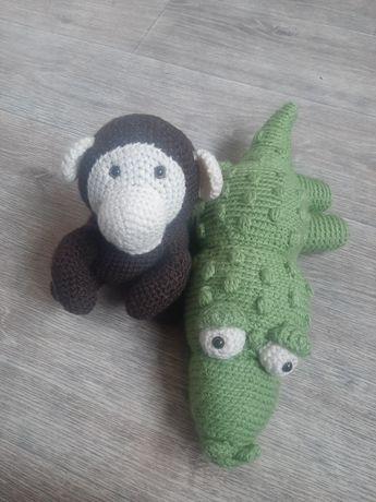 Игрушки, іграшки, хэнд мейд, Крокодил, Обезьяна, Мавпа