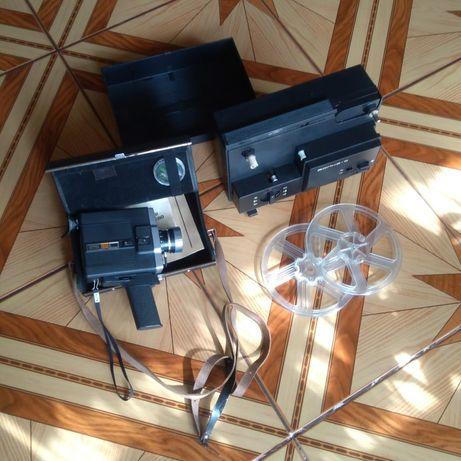 Kamera radziecka Lomo 215 8 mm plus projektor nieużywane