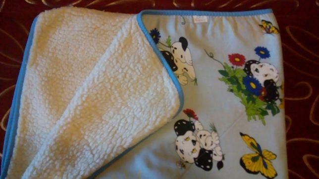 Одеяло детское шерстяное двухстороннее. ТМ «Ярослав».
