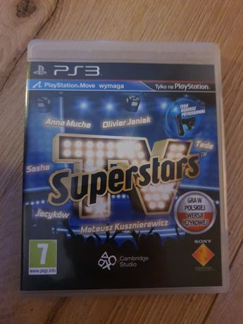 TV Superstars PS3 PS Move