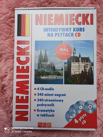 Intensywny Kurs języka niemieckiego na płytach CD