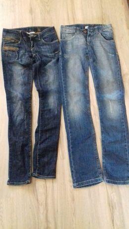 spodnie jeansowe rozm. XS, S