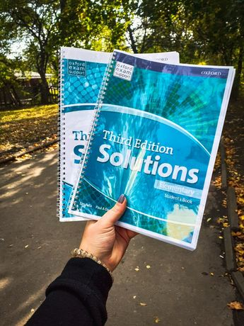 Друк книжок Round-up Speakout Real life Next move Solutions