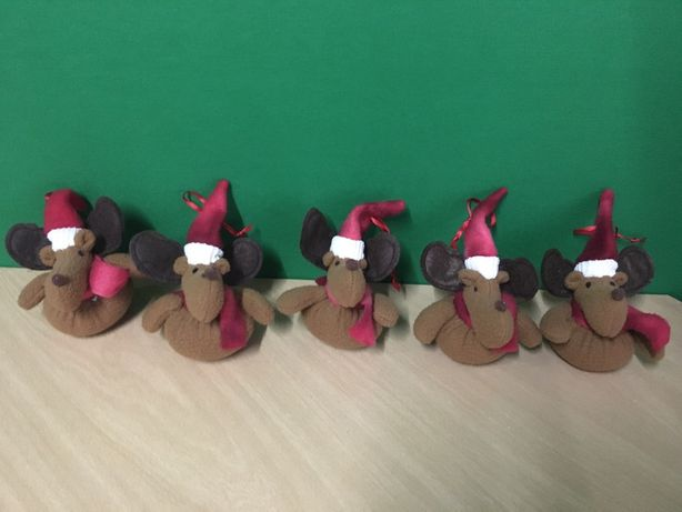 Bonecos pendurar de natal