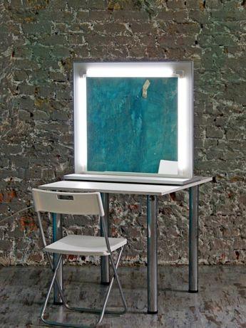 Зеркало гримерное с лед-подсветкой новое (без стола)