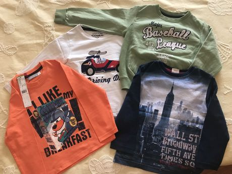 Sweats/Camisolas menino 3 anos, uma nova