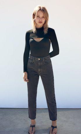 Джинсы  Zara, mom fit, размер 38, новые.