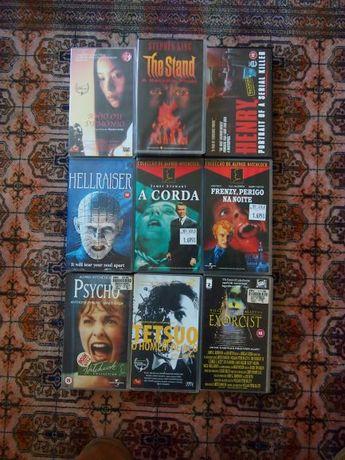 Filmes de Terror/Thriller/Suspense VHS