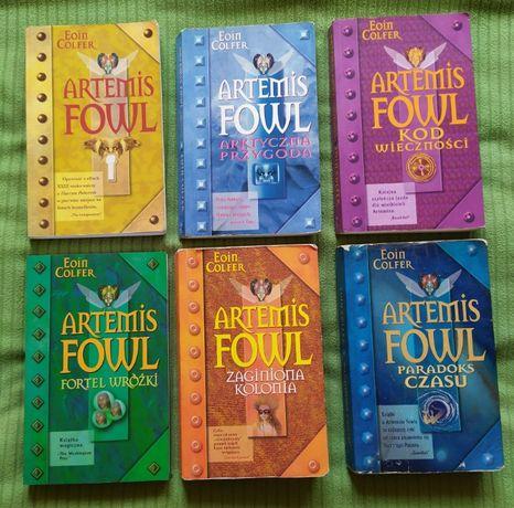 Seria Artemis Fowl, Eoin Colfer - 6 tomów