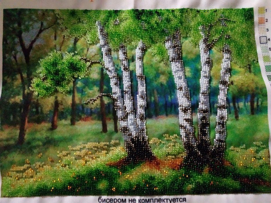 Вышитая картина бисером Суми - зображення 1
