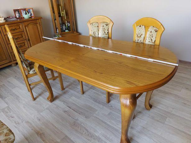 Stół rozkładany przed rozłożeniem 160x90cm po 255x90