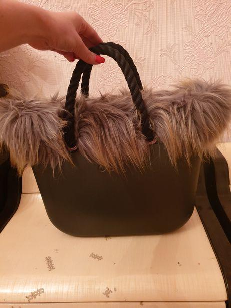 Obag mini итальянская женская сумка