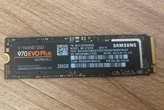 SSD Samsung 970 EVO Plus 250 GB NVMe