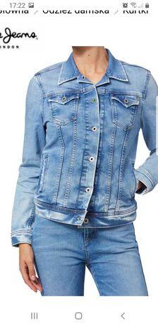 Pepe jeans świetna kurtka jeansowa Blue S