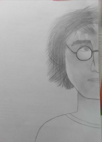 Rysunek Harry Potter