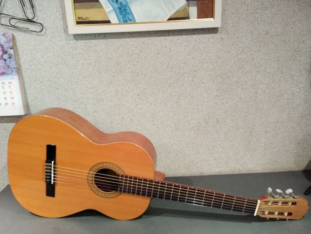 Hiszpańska gitara klasyczna Luis Romero gitara flamenco Brzmienie !!