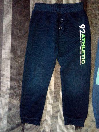 spodnie chłopięce rozmiar 92 (trzy sztuki)