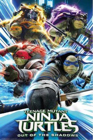 Posters novos Tortarugas Ninjas