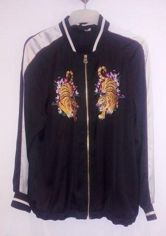 Bomberka, kurtka z tygrysami r40