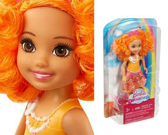 Lalka Chelsea MATTEL DVN04 Lalka Barbie Chelsea NOWA unikat