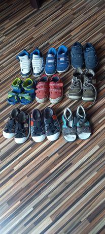 Zestaw 9 par butów buty adidasy sandały trampki