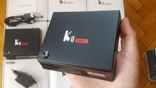 SmartTV Mecool KII Pro T2 S2 тюнер СмартТВ Приставка Бокс KIII K3 k2 k