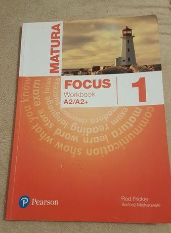 Focus 1 Workbook Rod Fricker Bartosz Michałowski ćwiczeniówka