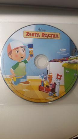 DVD Złota rączka. Disney. bajka dla dzieci.