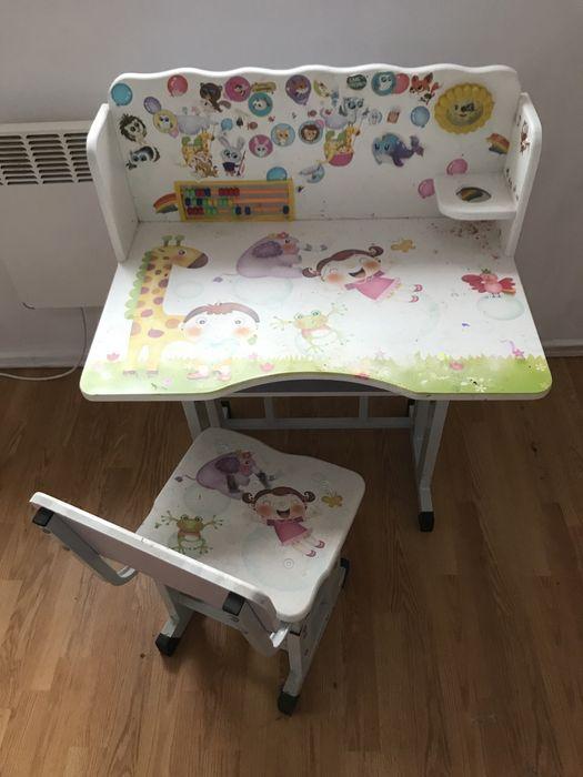 Biurko z krzesłem z regulacją Świdwin - image 1