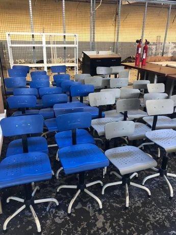 Cadeiras de maquina de costura
