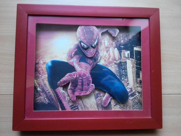 Spiderman, спайдермен, человек паук, картина 3D