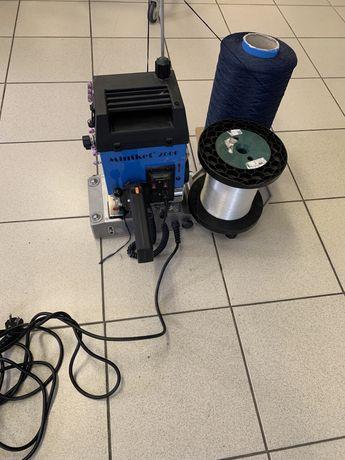 Maszyna do obszywania Miniket 2000 + zylki i nici
