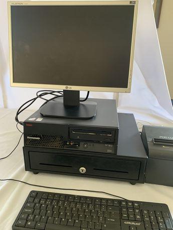 Maquina registadora | programa faturação + caixa + tickets