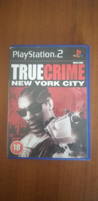 Gra na konsolę ps2 True Crime New York City