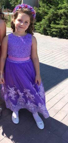 Детское платье для выпускного
