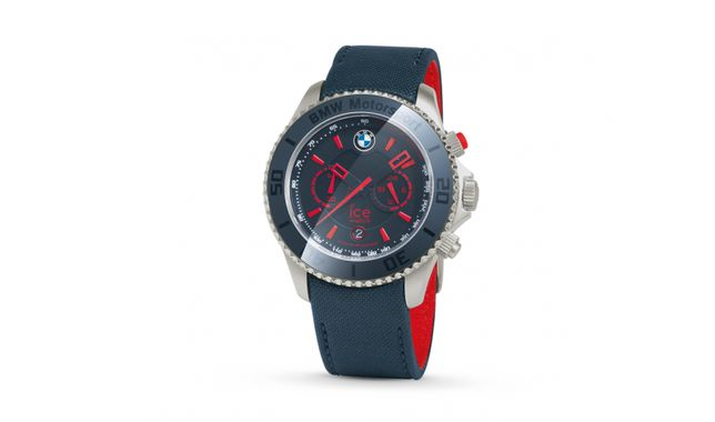 Zegarek ICE Watch BMW Motorsport Steel Chrono Team Blue / Czerwony