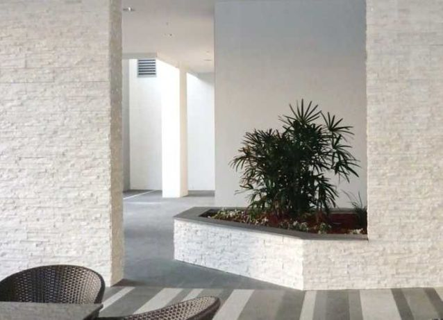 Marmur Pure White Kamień Dekoracyjny Naturalny 40x10 cm
