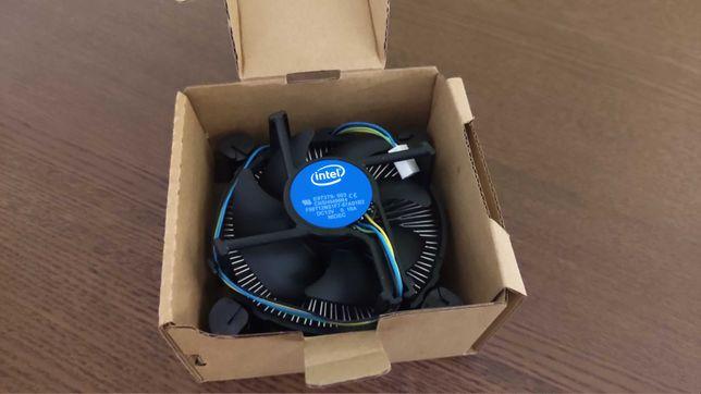 Cooler CPU Intel LGA 1151 novo ainda com pasta térmica