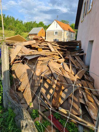 Drewno gruz w zamian