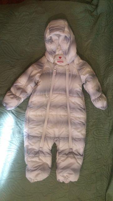 Продам зимний комбинезон для новорожденных Reima
