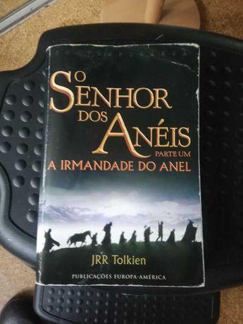 JRR Tolkien - O Senhor dos Anéis - Parte Um (Edição ultralimitada)
