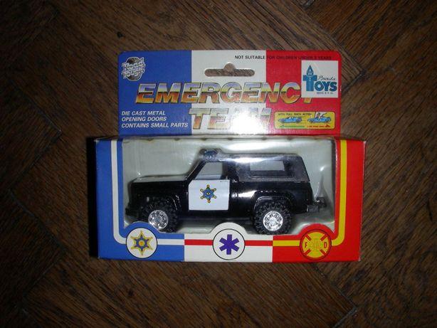 Детская машинка игрушка полицейский джип