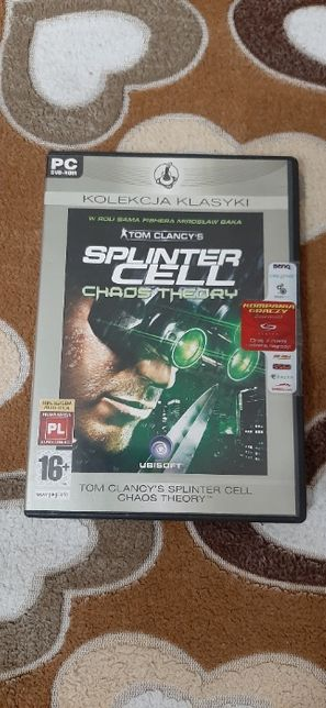 Tom Clancy's Splinter Cell Chaos Theory kolekcja klasyki ŁÓDŹ