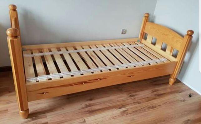 Łóżko drewniane sosnowe 200x90